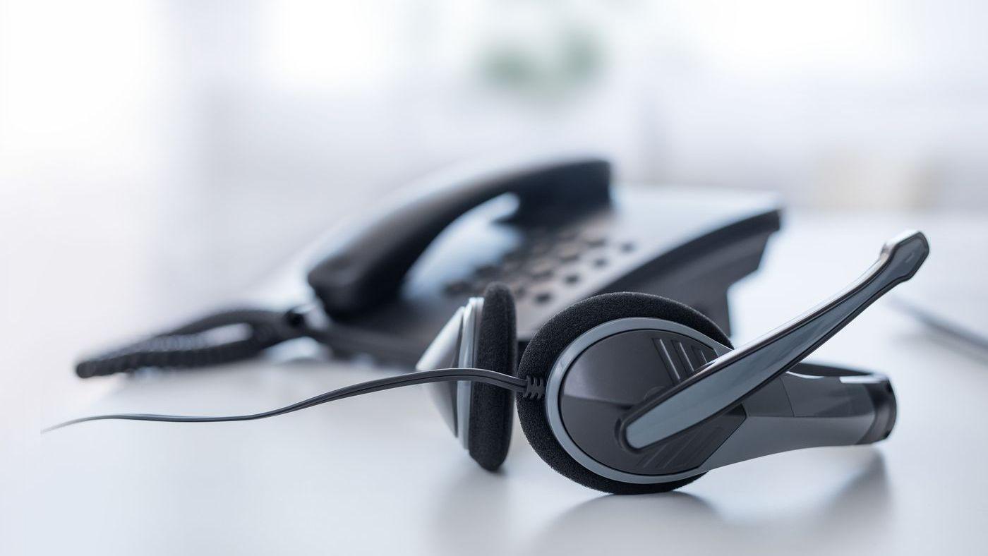 VoIP-Telefon-Headset