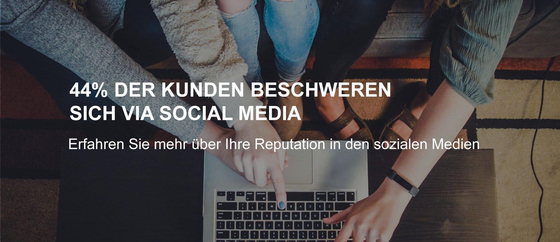 Kundenbeschwerde via Social Media